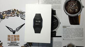 智能穿戴尝鲜之选,评测LIFESENSE 乐心 mambo watch 智能手表