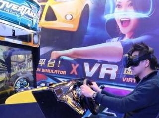 街机与VR联动 赛车游戏《火线狂飙VR》首度曝光