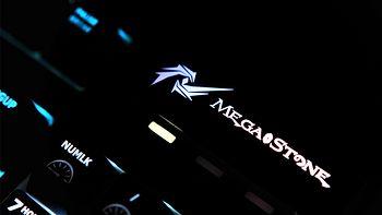 京东自出品:谜石(MegaStone)樱桃红轴机械键盘试用分享