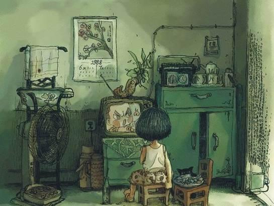 有了投影,我家客厅也是仙境