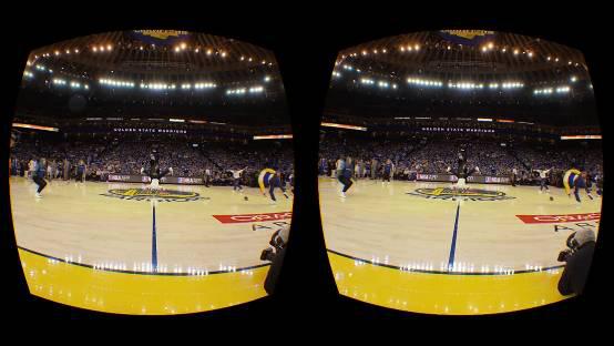 有福了 NBA新赛季将有更多VR转播
