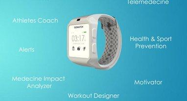这款健康手表可脱离手机独立使用 比苹果表专注