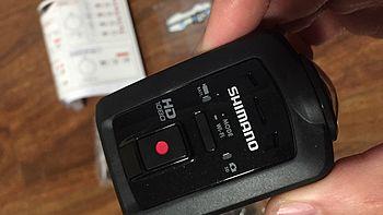 #本站首晒# 禧玛诺Shimano CM-1000 运动相机