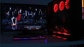 吸血鬼爱好者装机,红色光污染才是正道