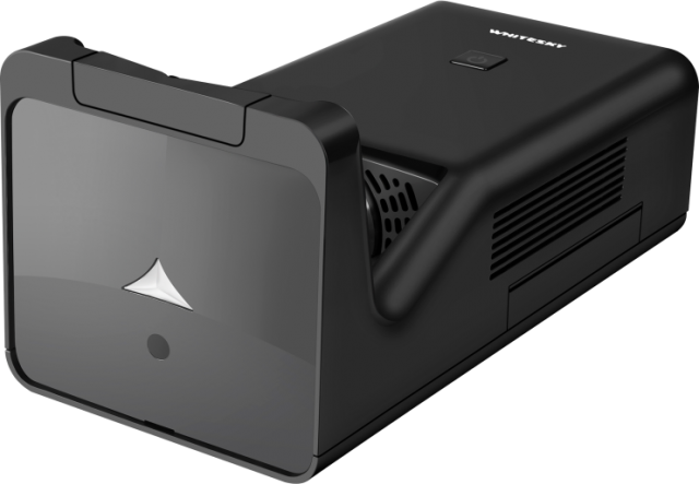 WHITESKY首款LED超短焦智能投影仪震撼上市