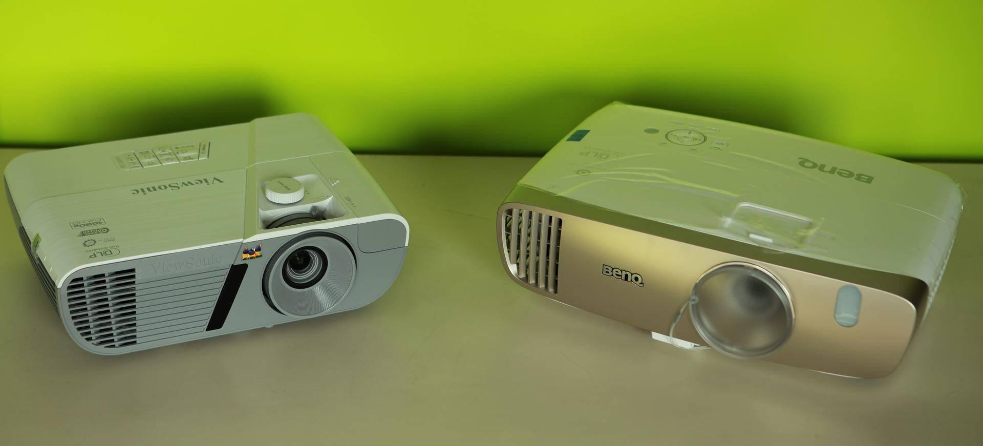 1080P家用投影横评之一:优派PX726HD VS 明基W2000