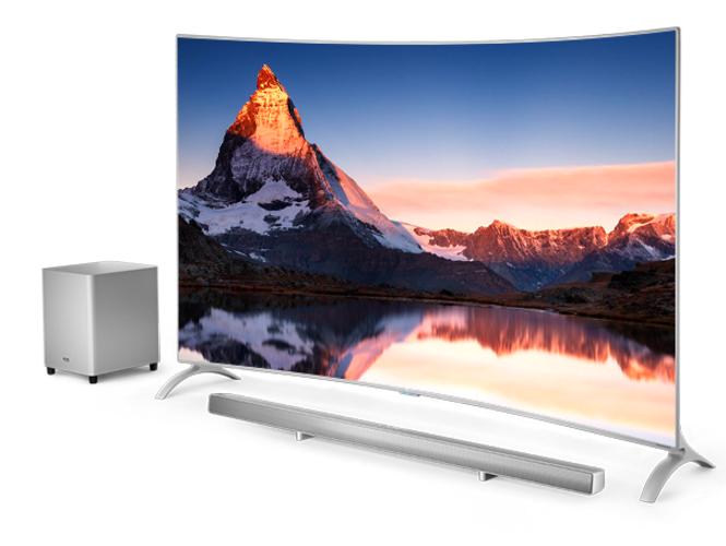 极致轻薄值得等待 17日乐视65吋曲面电视开售