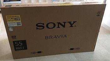 索尼 KD-55X9000E 液晶电视 开箱&小评