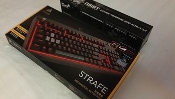 我与机械键盘的初次相遇——USCorsair 美商海盗船 STRAFE 惩戒者青轴实用评测