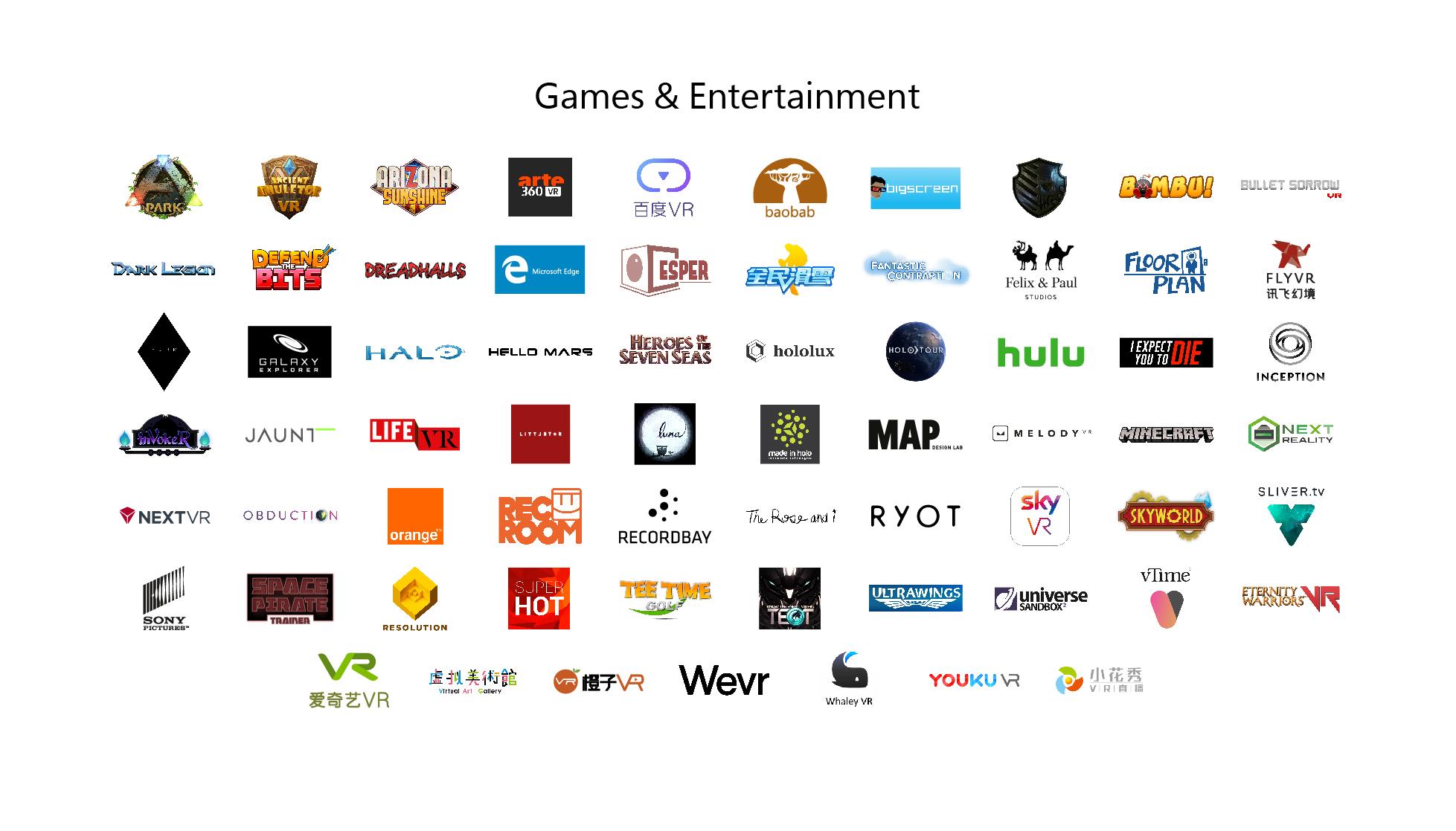 67款应用将登陆微软Windows VR平台