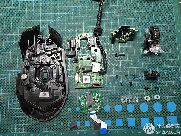 logitech 罗技 g502 鼠标更换 罗技 g900 滚轮