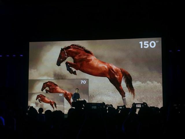 小米刚刚发布1080p激光电视 极米就拿出4K分辨率新品打脸