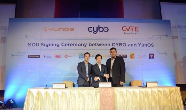YunOS进军海外 与泰国Cybo共发智能电视