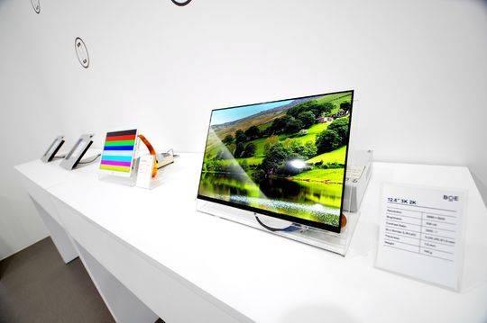 """110吋的超大液晶电视 只是京东方的""""黑科技""""之一"""