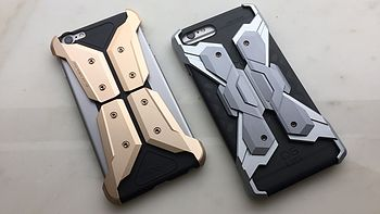 #本站首晒# 盒子比壳子贵系列:CORESUIT NEO ARMOR iPhone7 金属手机壳