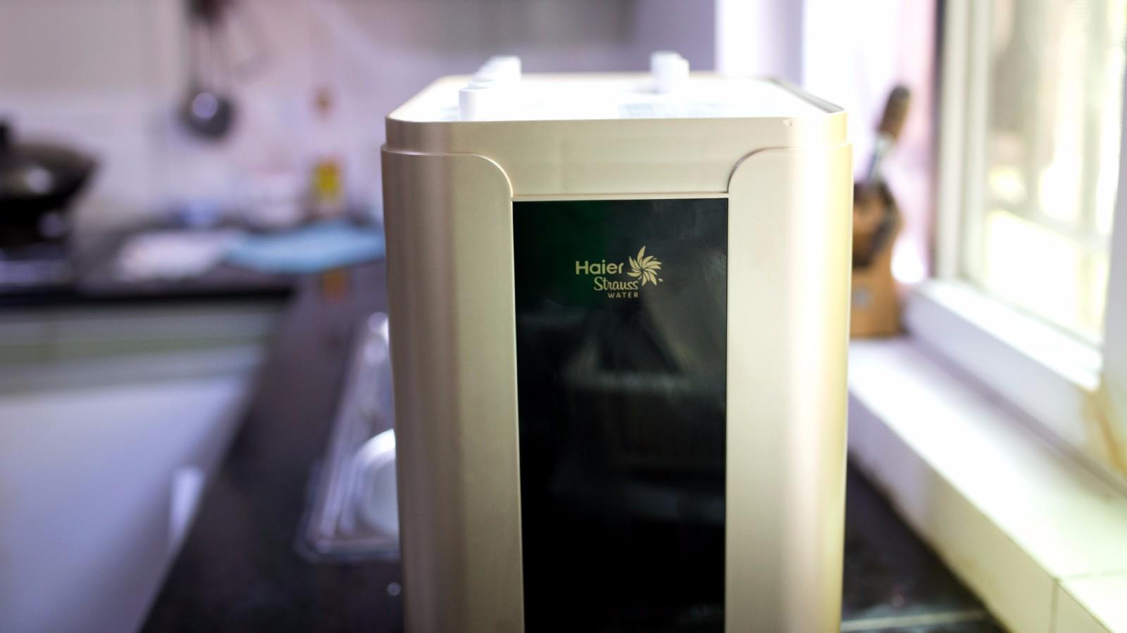 海尔施特劳斯P7净水机HSNF开箱评测 放心直饮健康水