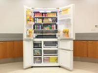 冰箱中的巨无霸!夏普净离子群五门冰箱评测