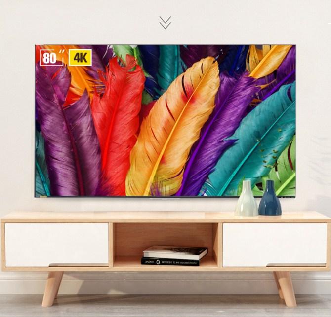 大屏观赛新视界 夏普80英寸智能电视21999元