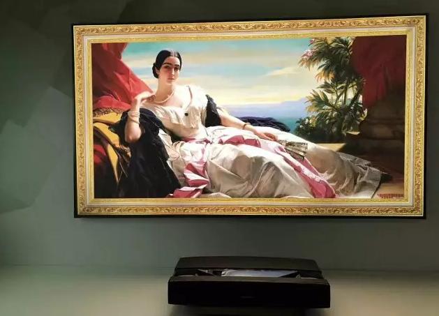 花2万体验 100英寸大屏 激光电视能颠覆传统电视?
