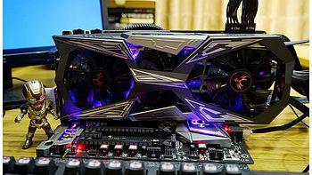 一眼把你看穿—COLORFUL 七彩虹 iGame GTX1070Ti Vulcan X Top 显卡 开箱及超频详测