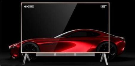 大客厅的首选 98英寸大屏幕电视给你震撼体验