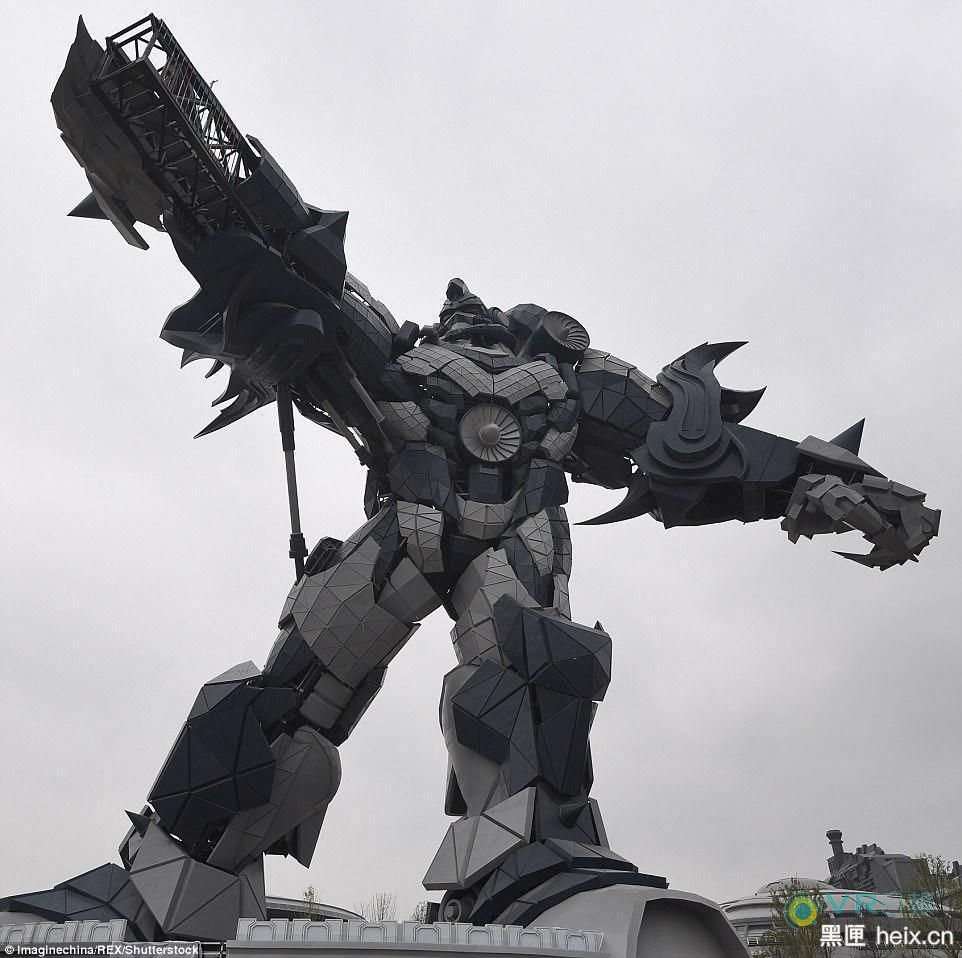 """中国最大VR主题乐园""""东方科幻谷""""12月完工开放 占地1.3平方公里"""