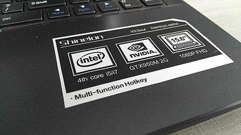 兴趣使然的电脑数码晒单评测 篇四:Shinelon 炫龙 X5-541HN3 笔记本电脑 简评