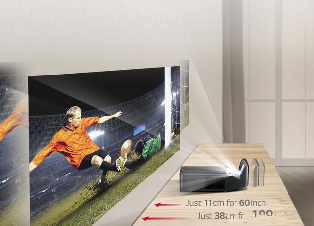 """最小的""""激光电视""""开箱,LG PF1000UW-CH初体验"""