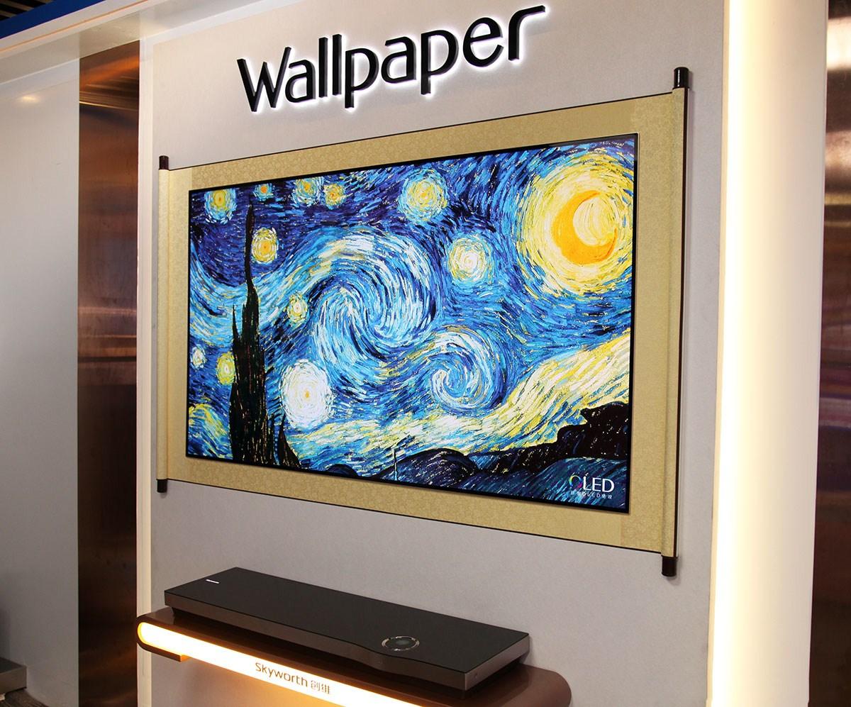 创维Wallpaper系列W9 诠释未来电视模样