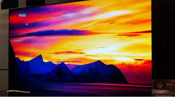 海信4月将在日本发布首款OLED电视