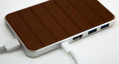 """发愁新MBP接口问题?这个""""巧克力""""完美解决"""