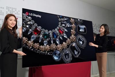 LGDE6线将于2018年三季度投产柔性OLED