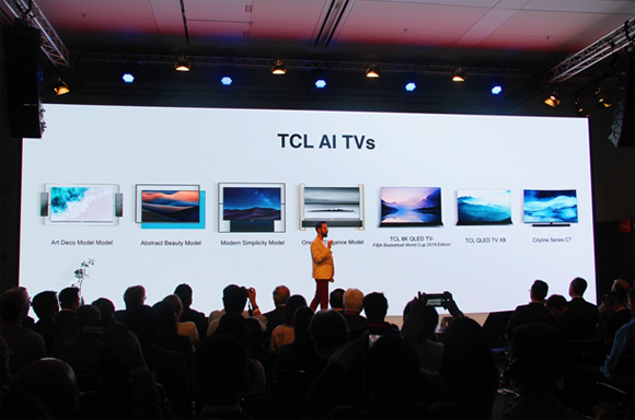 TCL发布4款电视新品 2018 IFA TCL再启创新之旅