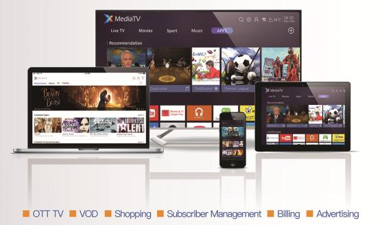 华曦达推出XMediaTV 新一代OTT TV运营商融合生态解决方案