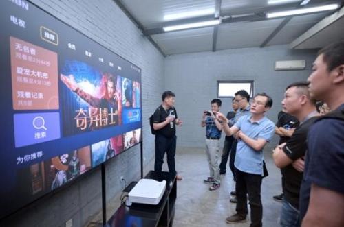 互联网品牌未来已来:看尚发布互联网品牌第一台激光电视