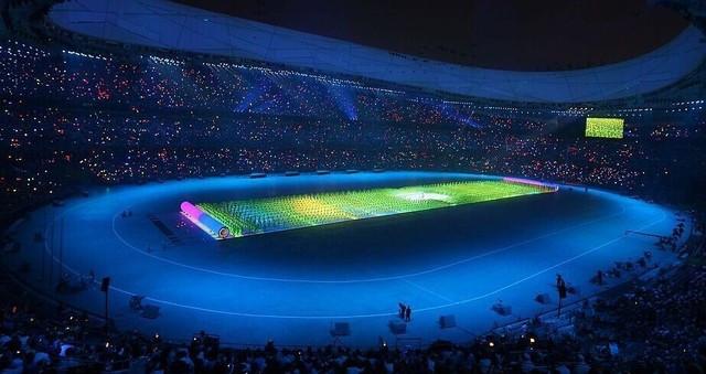 奥运会五千平米LED震惊众人 盘点四大显示技术