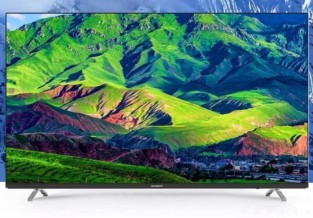 四款无边框电视中,为啥说海信H55E7A颜值最高?