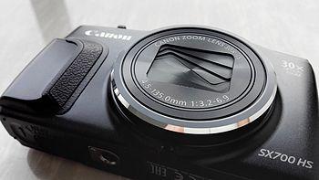#本站首晒# Canon 佳能 PowerShot SX700 HS 数码相机 黑色 开箱
