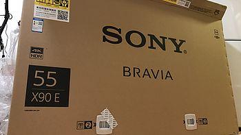信仰充值满分:SONY 索尼 2017新品 55X9000E 智能电视