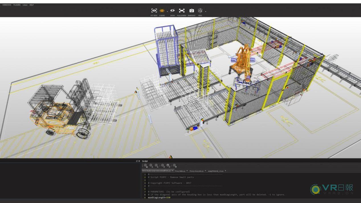 Unity与PiXYZ合作有助于将大型CAD组件融入VR体验