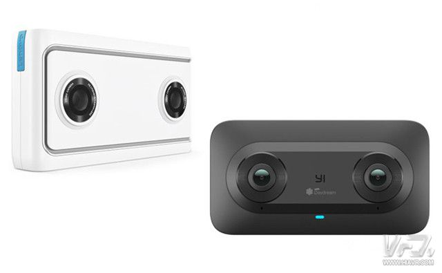 [CES 2018]谷歌与联想、小蚁合作发布两款VR180系列VR相机