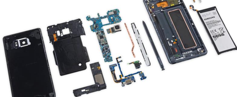 维修难度高!三星 Galaxy Note 7 拆解