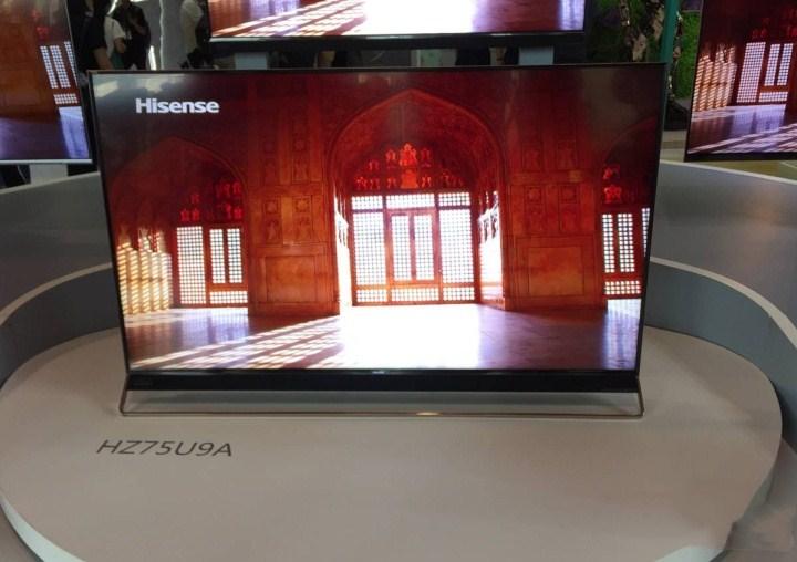 超级画质+人工智能 海信HZ75U9A旗舰电视抢先测