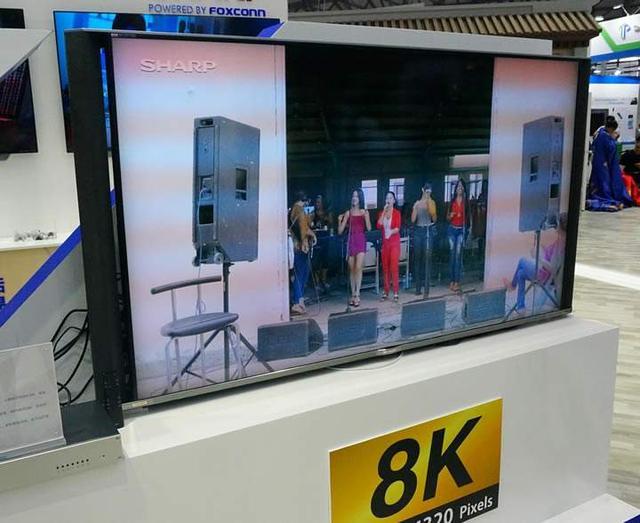 鸿海助力夏普力推8K电视 全球电视8K时代来临
