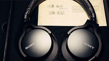 SONY 索尼 MDR-1A LTD 头戴式耳机 开箱简评