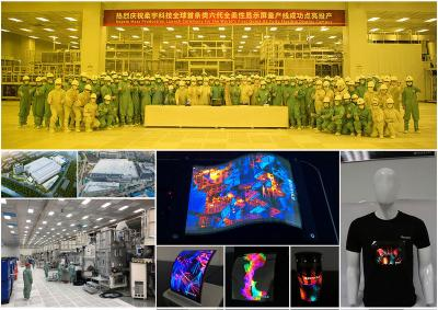 柔宇深圳准6代工厂量产柔性OLED