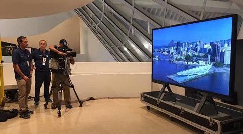 """里约奥运8K显示屏""""出场"""" 8K电视开始爬坡"""