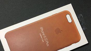 #原创新人#iPhone 6s Plus 皮革保护壳 简单开箱