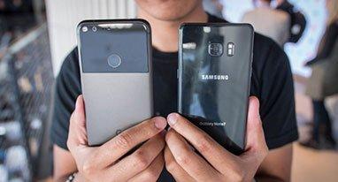 Note 7对比Pixel XL 你猜谁才是Android最强机?