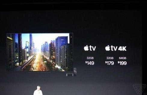 苹果Apple TV 4K版新增HDR10标准,179美元起售